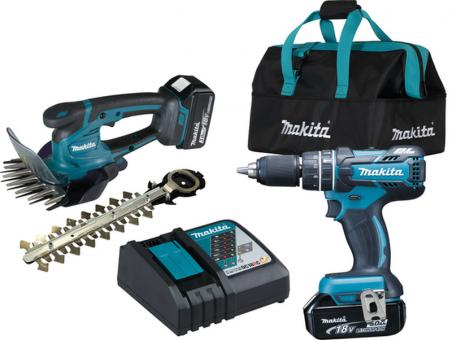 Makita Akku-Kombo-Kit DLX2328X1 18V