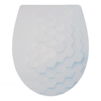 Sanitop WC-Sitz Hexagona Duroplast Soft-Schließ Komfort