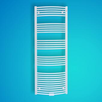 Mert Radiatoren Badheizkörper Standard Weiß gebogen 500x1500mm