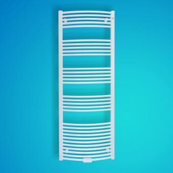 Mert Radiatoren Badheizkörper Standard Weiß gebogen 500x1800mm