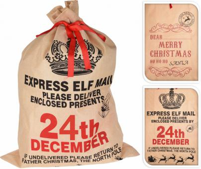Koopman Weihnachtssack in 2 Designs