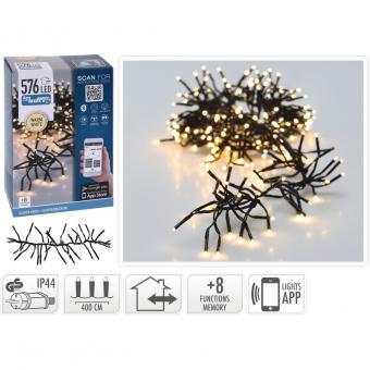 Koopman Lichterkette mit 576 warmweißen LEDs