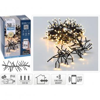 Koopman Lichterkette mit 768 warmweißen LEDs