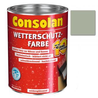 Consolan Wetterschutzfarbe grau