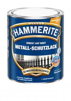 Hammerite Metallschutzlack glänzend silber