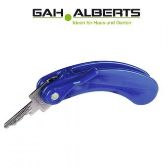 GAH Alberts Kunststoff-Schlüssel-Drehhilfe, blau
